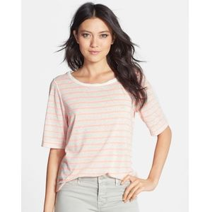 Speckled Stripe Tee